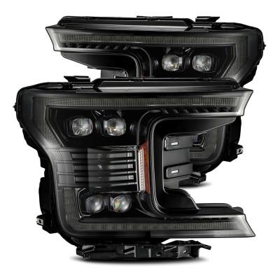 Альтернативная оптика передняя на Ford F-150 2018- Alpharex NOVA-Series LED Alpha-Black