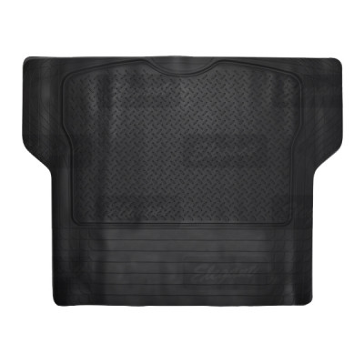 Коврик в багажник Elegant Plus EL 215 019 черный универсальный