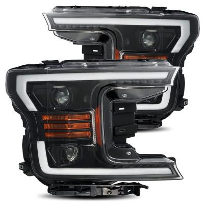 Альтернативная оптика передняя на Ford F-150 2017-2020 PRO series Jet-Black