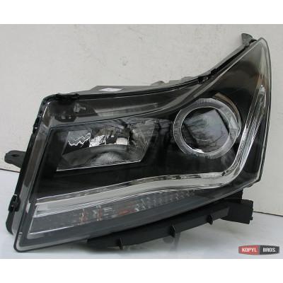 Альтернативная оптика передняя на Chevrolet Cruze 2008-2012 тюнинг фары JunYan