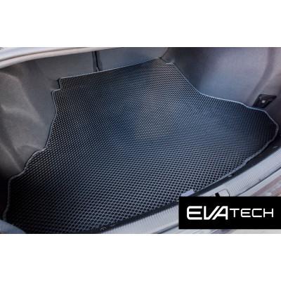 Коврик в багажник EVAtech для Audi A4, I поколение (B5), (99-00) EVA полимерный черный