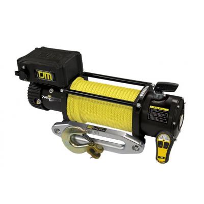 Лебедка электрическая TJM Torq Winch 12000LB с синтетическим тросом