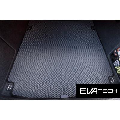 Коврик в багажник EVAtech для Audi A4, III поколение (B7), (04-08) EVA полимерный серый