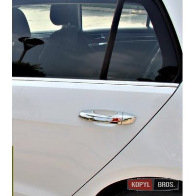 Накладки на ручки Volkswagen Golf 7 2012- хромированые ASP BVWG7149