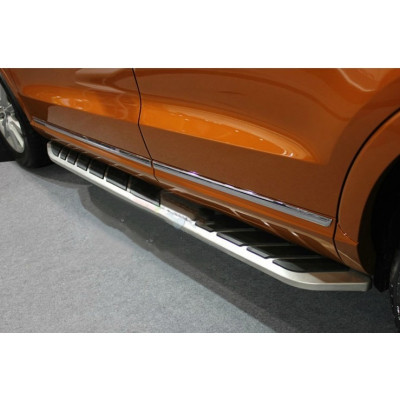 Бокові пороги на Audi Q3 2011- підніжки Cixtai q3-s013