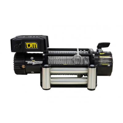 Лебедка электрическая TJM Torq Winch 9500LB со стальным тросом