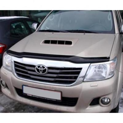 Дефлектор капота для Toyota Hilux 2011- | Мухобойка EGR 039331L