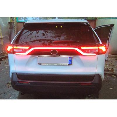 LED вставка для Toyota RAV4 2019- между задних фонарей ASP MCR163A
