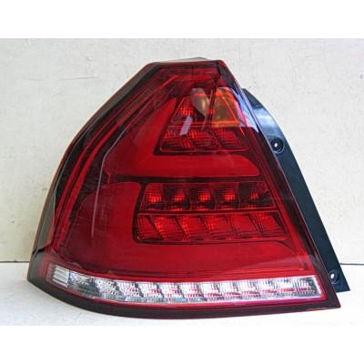 Альтернативная оптика задняя на Chevrolet Aveo 2006- Led taillights Benz style LL тюнинг JunYan