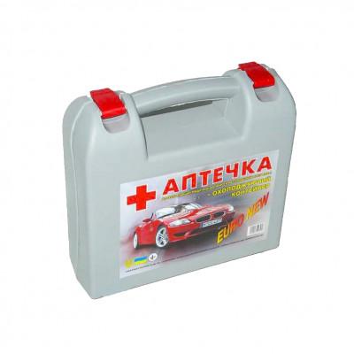Автомобільна аптечка Евро сіра 24 шт