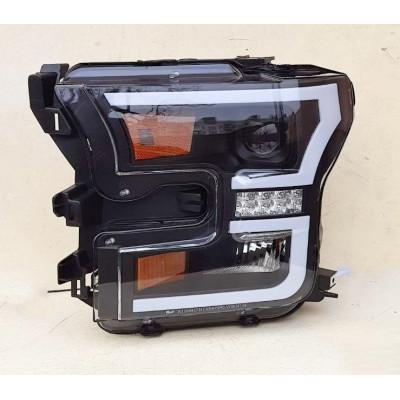 Альтернативная оптика передняя на Ford F-150 2015- черная JunYan WJ1025-0427-L-04