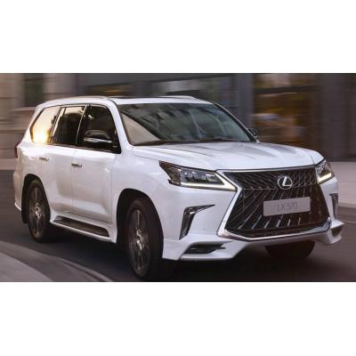 Комплект обвісу для Lexus LX570 2017- TRD Superior білі GBT dd62634