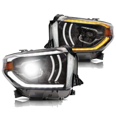 Toyota Tundra 2014+ оптика передняя Full LED стиль YZ1