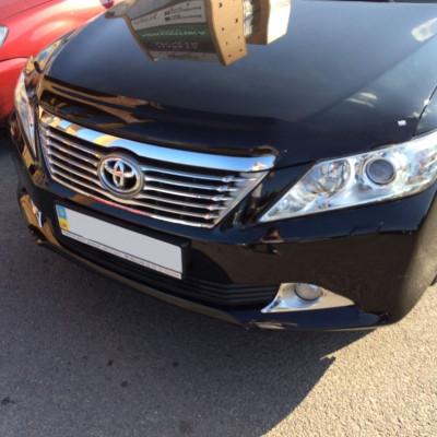 Дефлектор капота для Toyota Camry XV50 2011-2014 | Мухобойка EGR SG1062DSL
