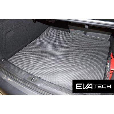 Коврик в багажник EVAtech для Audi A4, IV поколение (B8), (08-15) EVA полимерный серый