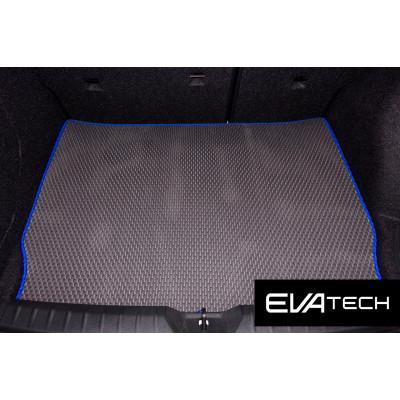 Коврик в багажник EVAtech для BMW 1-Series, F20 (5-дв. хэтч), (11-...) EVA полимерный серый