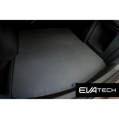 Коврик в багажник EVAtech для Audi A6, III поколение (C6), (04-11) EVA полимерный серый