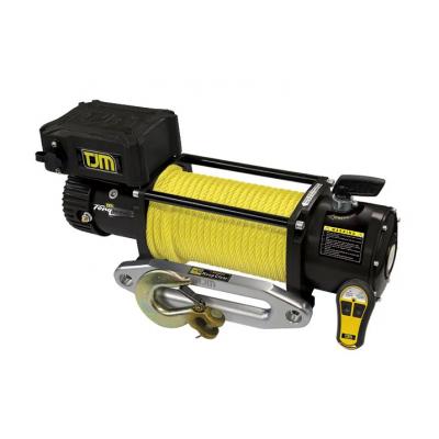 Лебедка электрическая TJM Torq Winch 9500LB с синтетическим тросом