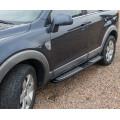 Бокові пороги на Chevrolet Captiva 2006- підніжки Niken ctv-s002