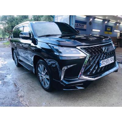 Комплект обвісу для Lexus LX570 2017- TRD Superior чорні GBT dd62634b