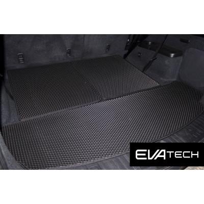 Коврик в багажник EVAtech для Acura MDX II поколение (YD2), (06-13) EVA полимерный черный