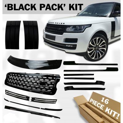 Комплект накладок BlackEdition для Land Rover Range Rover 2014- Cixtai dd50512