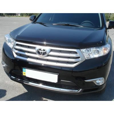Дефлектор капота для Toyota Highlander 2010-2013 | Мухобойка EGR 039311