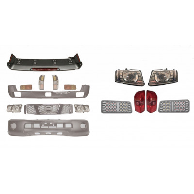 Комплект обвісу Nissan Patrol 1997-2011 Cixtai dd50484